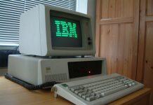 IBM the desktop of the past