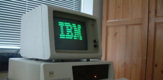 IBM the desktop of the past